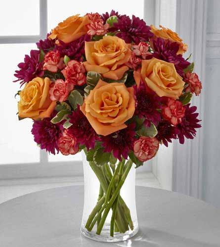 The Autumn Treasures Bouquet